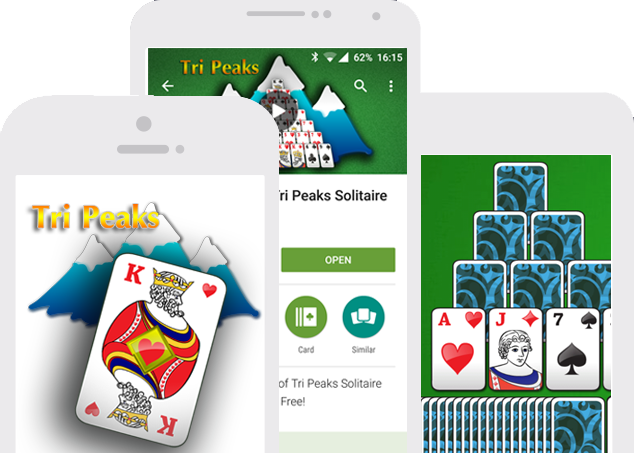 TriPeaks Solitaire for Android