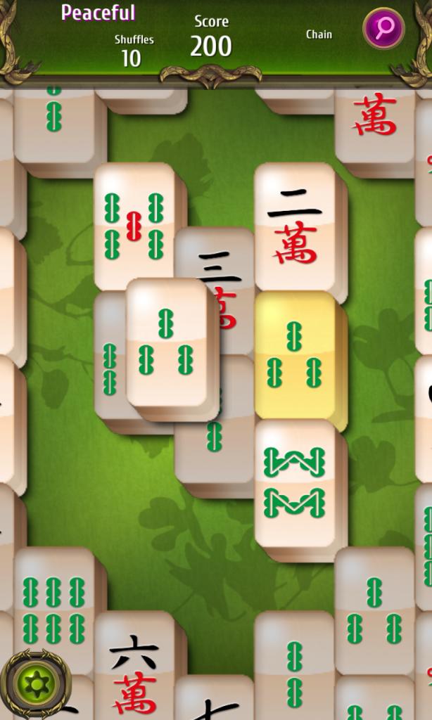 Mahjong Classic board zoom